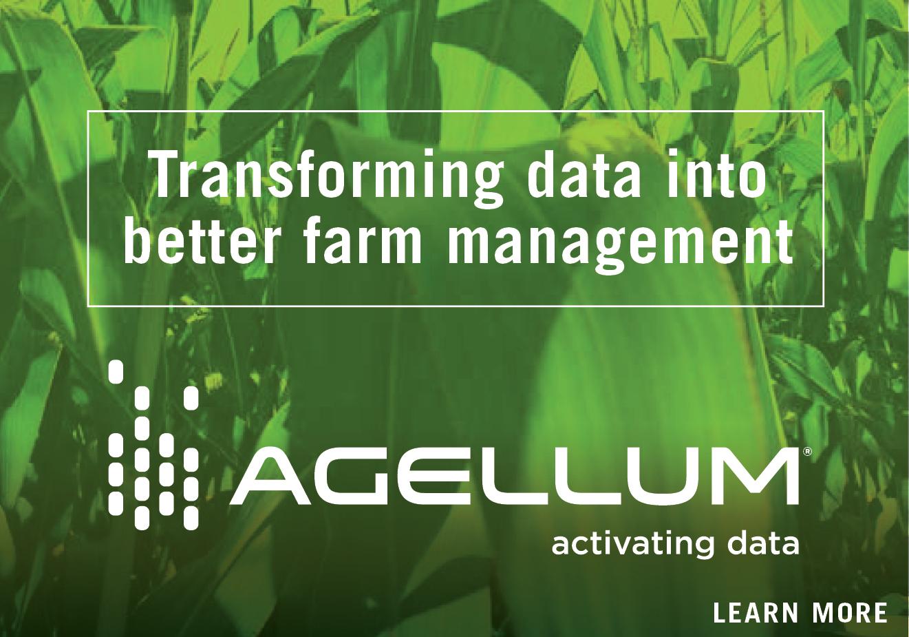 Agellum: Transforming data into better farm management